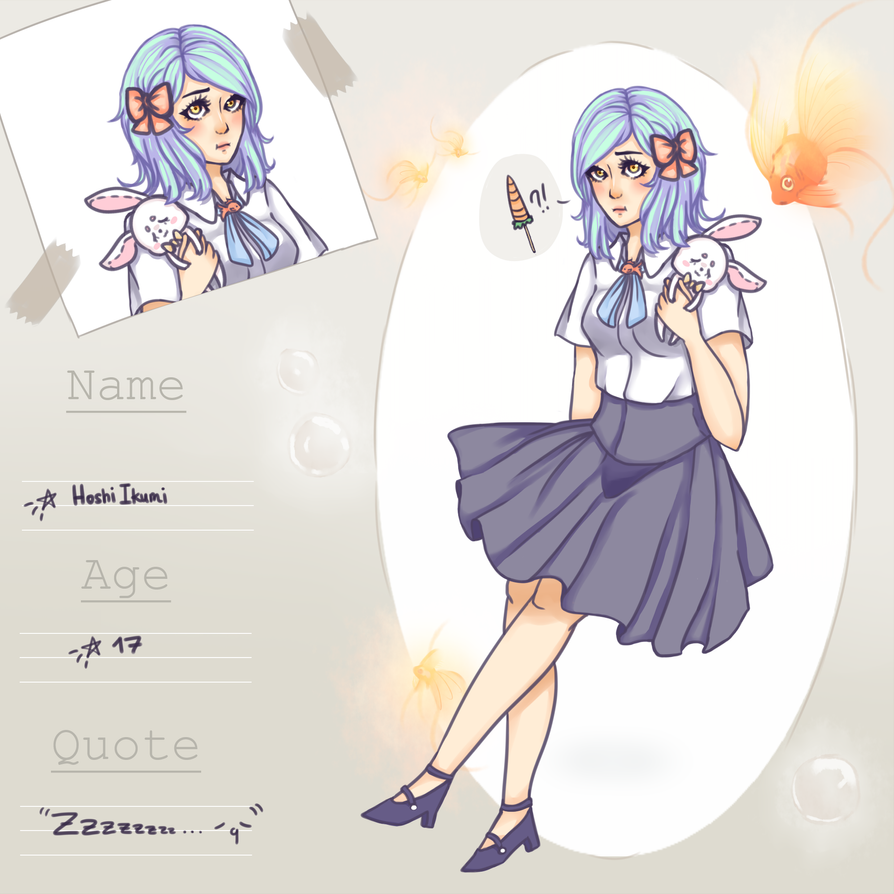 KH App: Hoshi, Ikumi by LuvScissors
