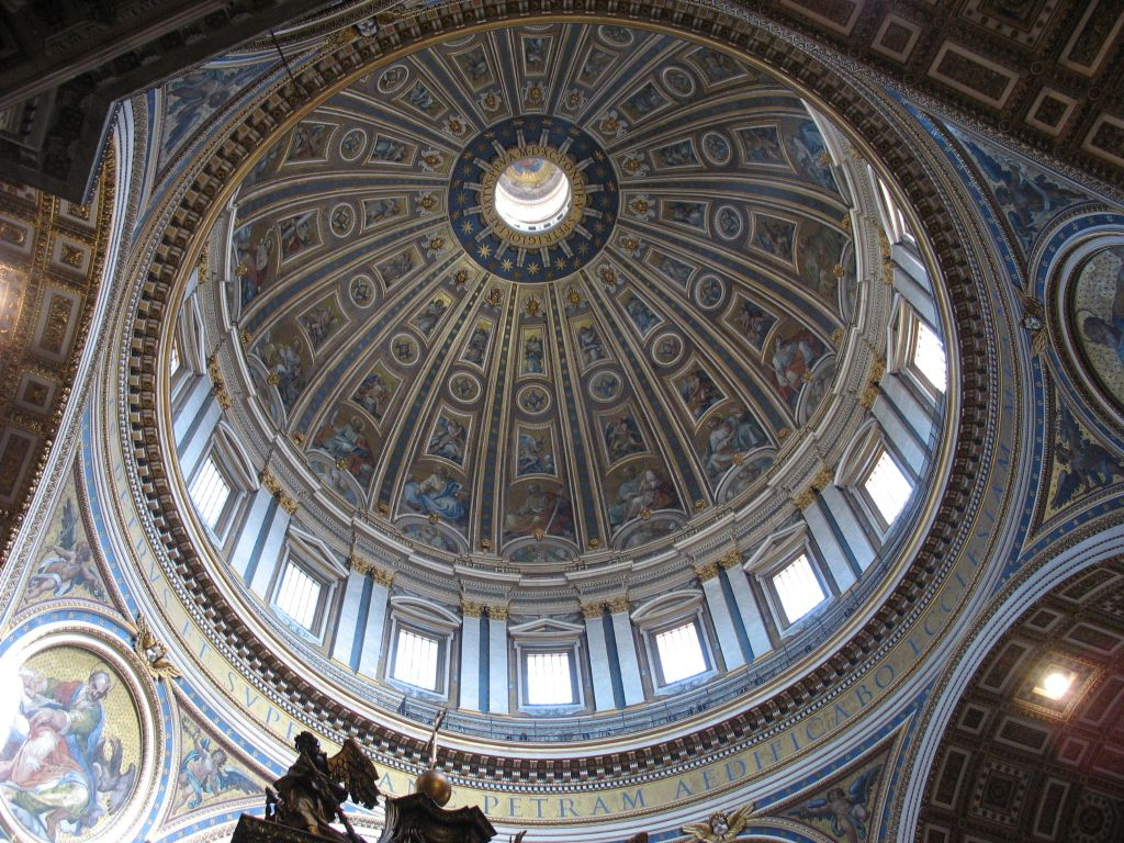 Cupola di san pietro by hotaru tomoe78 on deviantart for Interno san pietro