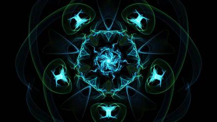 Wallpaper: Pentagonal lagoon by 1337w0n