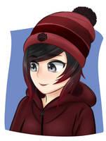 Hoodie Ruby Rose by brown-nii