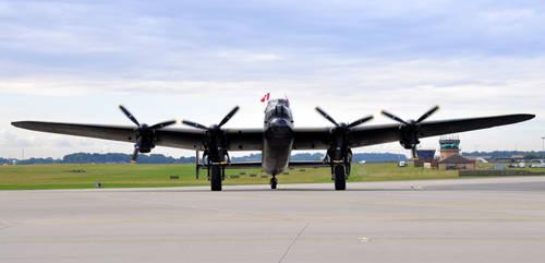 Canadian Lancaster Bomber Vera. by dark-angel-01