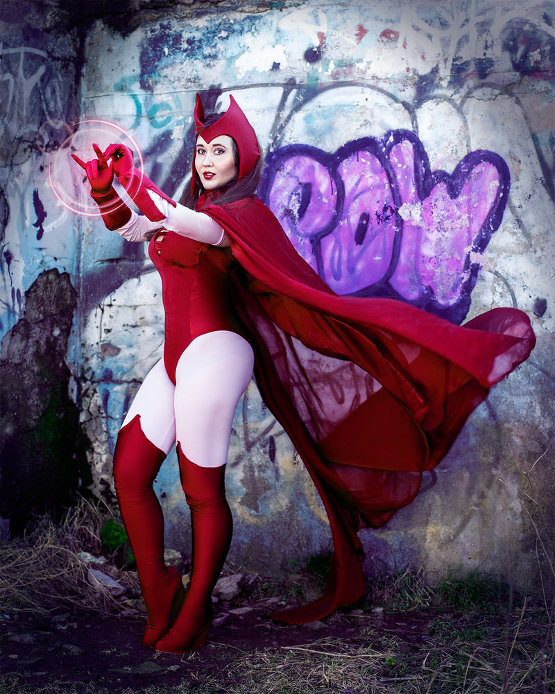 Pow! - Scarlet Witch - Comic Book Version