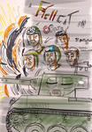 Cover. A Hellcat on Ooarai by Battlefield101 by WhiteKyurem2000
