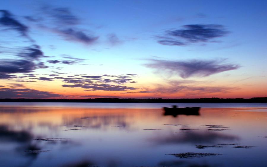 Sunset over Dennmark by Jaa-c