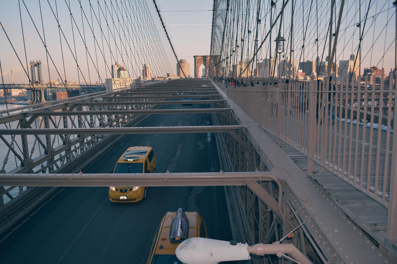 Brooklyn Bridge by Nikoleta036