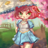Kiru : Under the Cherry Blossoms by lihyan96