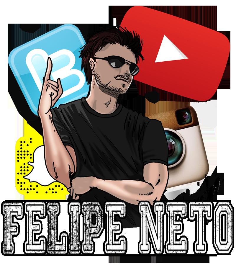 Felipe Neto by shizarah