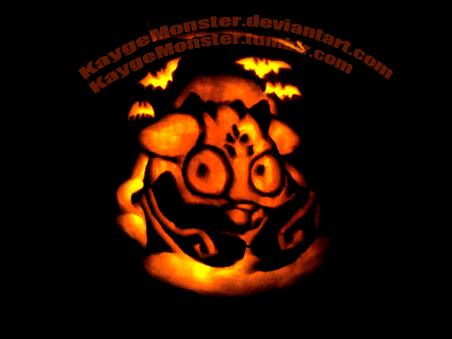 Behemoth Pumpkin by KaygeMonster