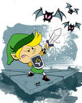 Link vs. the Keese