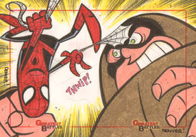 MGB: Spider-Man vs. Juggernaut