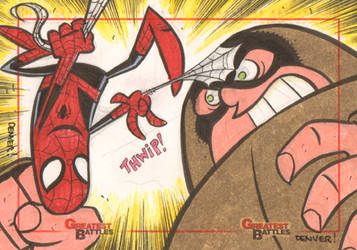MGB: Spider-Man vs. Juggernaut by thecheckeredman