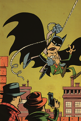 Detective Comics #27 cover by thecheckeredman