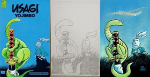 Usagi Yojimbo #7 side-by-side comparison