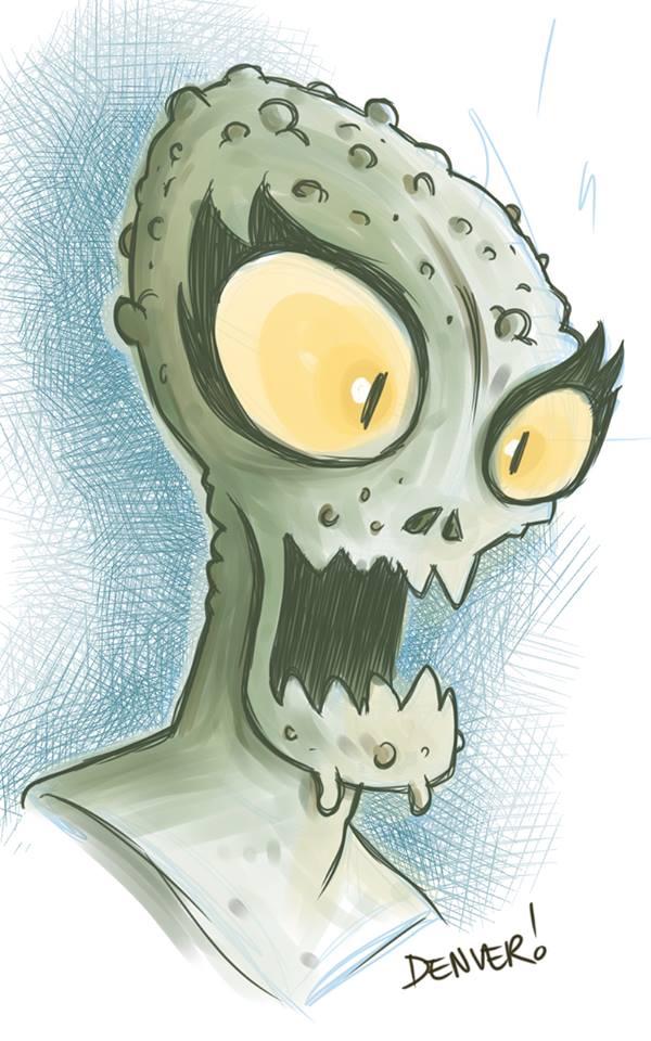 Alien Invader by thecheckeredman