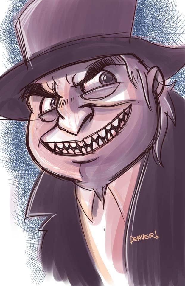 Gentleman Ghoul by thecheckeredman