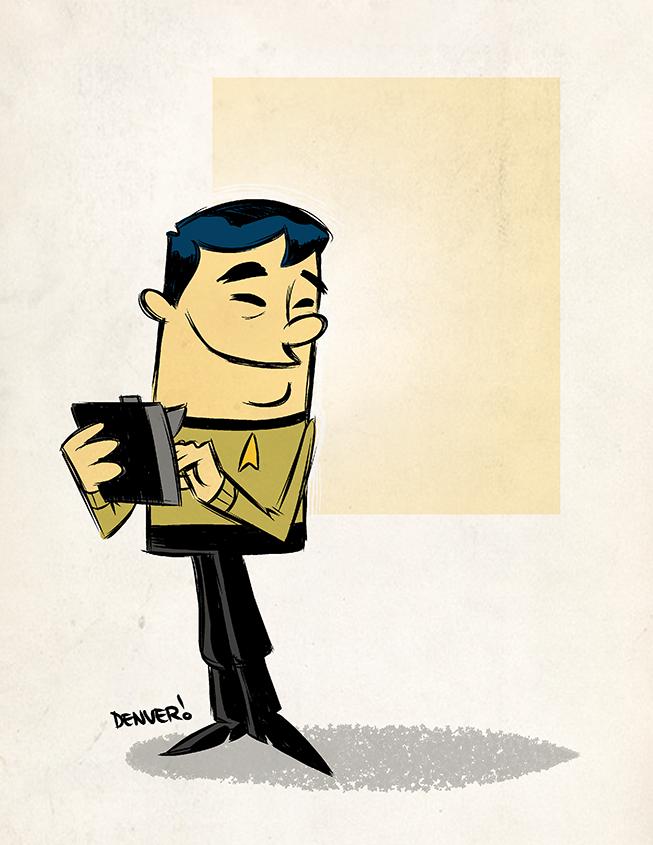 Sulu by thecheckeredman
