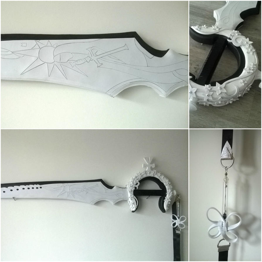 Zero's Blade - Drakengard 3 - WIP - Collage by VickyLigt