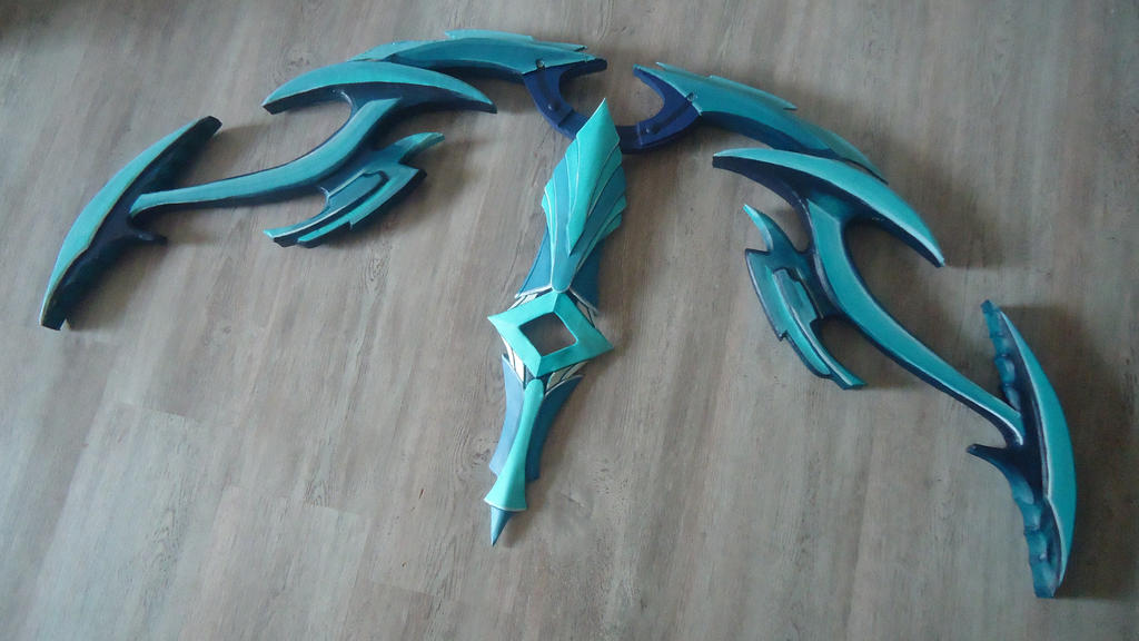 Seren Godbow - WIP - Full size! by VickyLigt