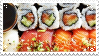 Sushi - Stamp by TamaraC-Other