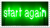 Start again - Stamp by TamaraC-Other