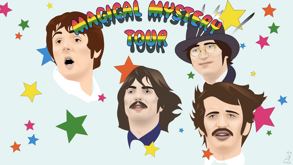 Magical Mystery Tour by FoolEcho