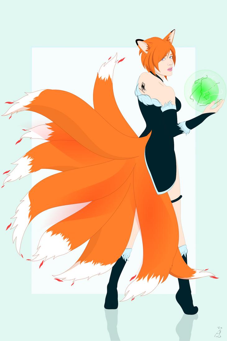 Tj kitsune by ElderKitsune