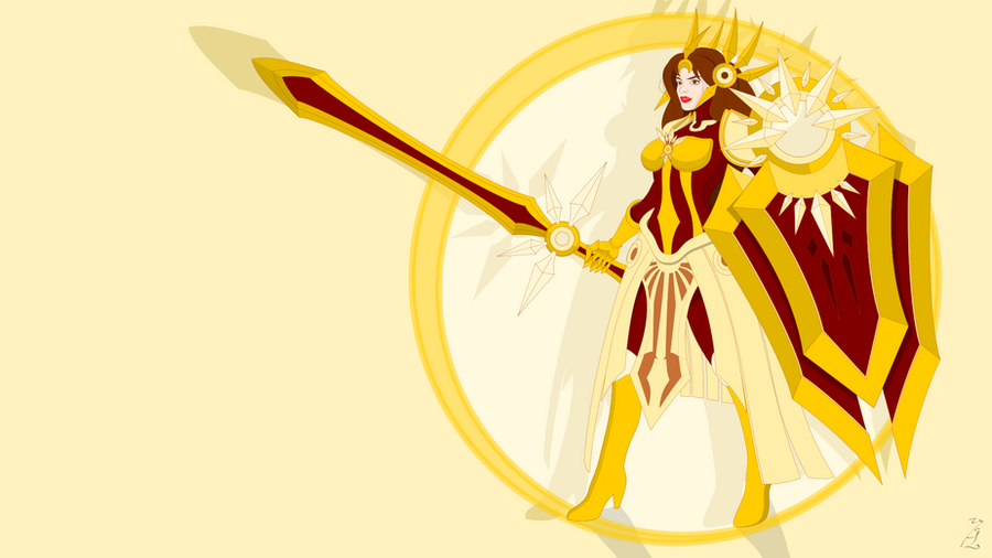 Leona, the Radiant Dawn by FoolEcho