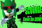 Scourge the Hedgehog Super Smash Bros. Meme