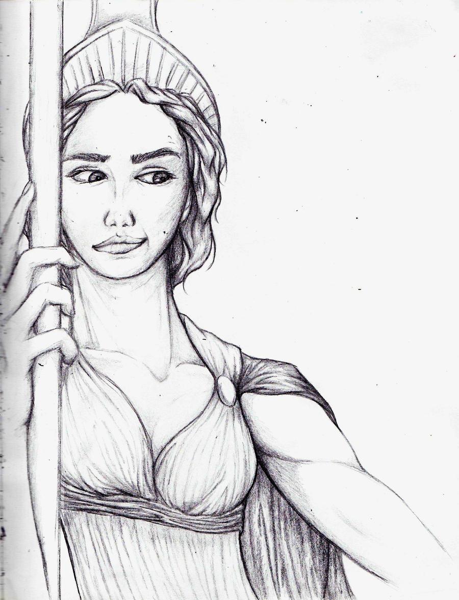 Greek Goddesses: Athena by caela1067 on DeviantArt