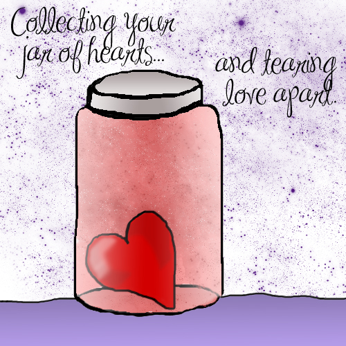 Collecting your Jar of Hearts by RSboo220 on DeviantArt