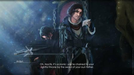 Final fantasy 15 1 by LaMoMM