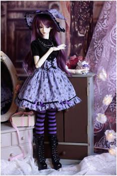 Outfit for a sweet witch