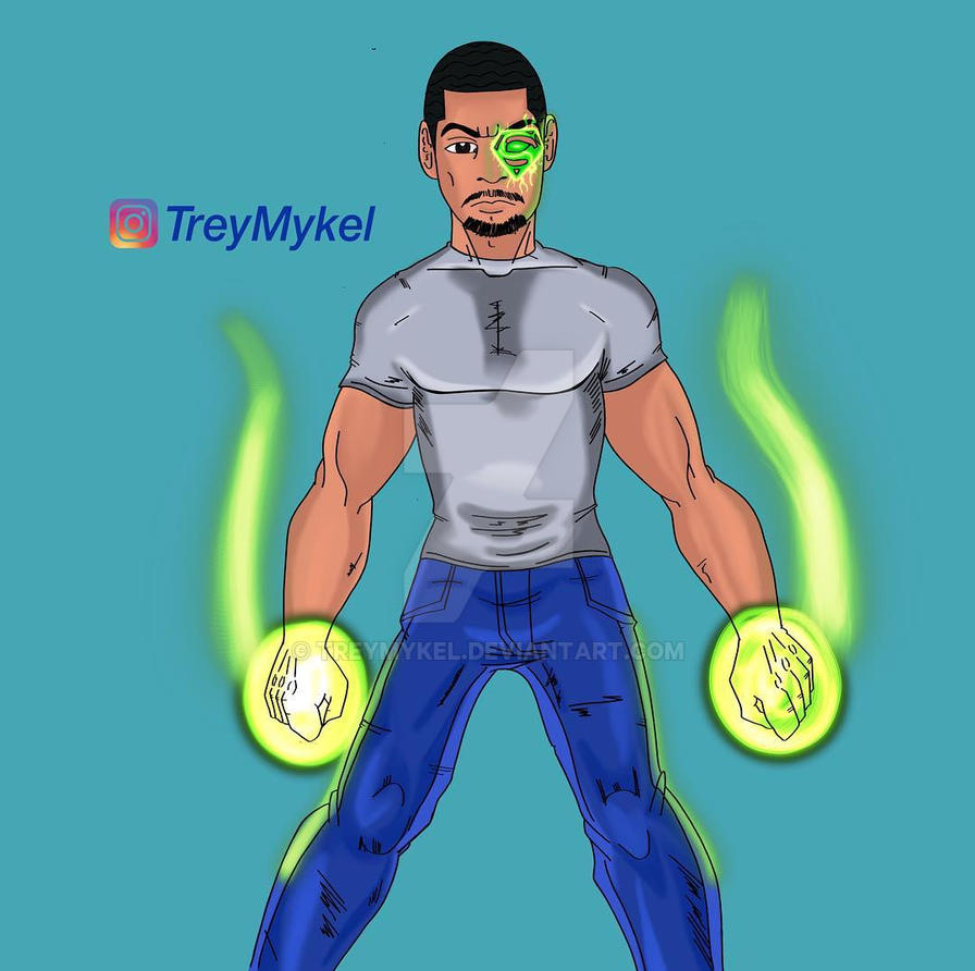 Power Dude by TreyMykel