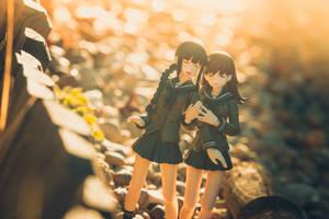 Kitakami x Ooi by Wasabi78