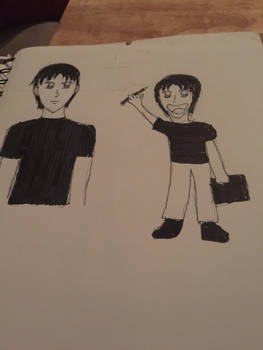 Sam (First Drawing)