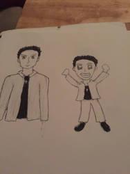 Dean (First Sketch)