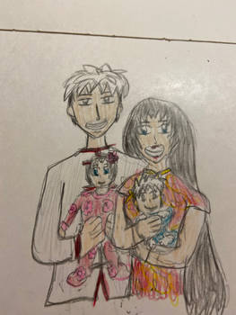 Hatsuharu, Kuri, and their Unnamed Kids