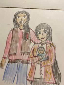 Jacob Black, Kuri, and their son Henry