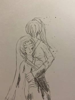 Kenshin and Kuri Goodbye