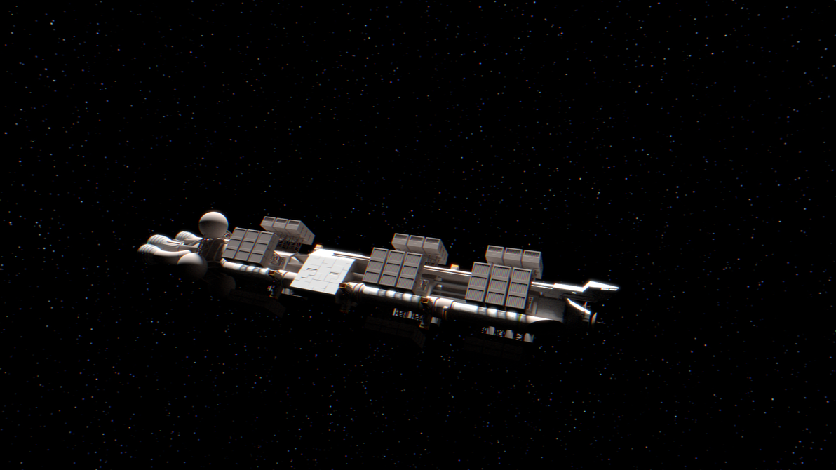 Freighter WIP by Swiddy