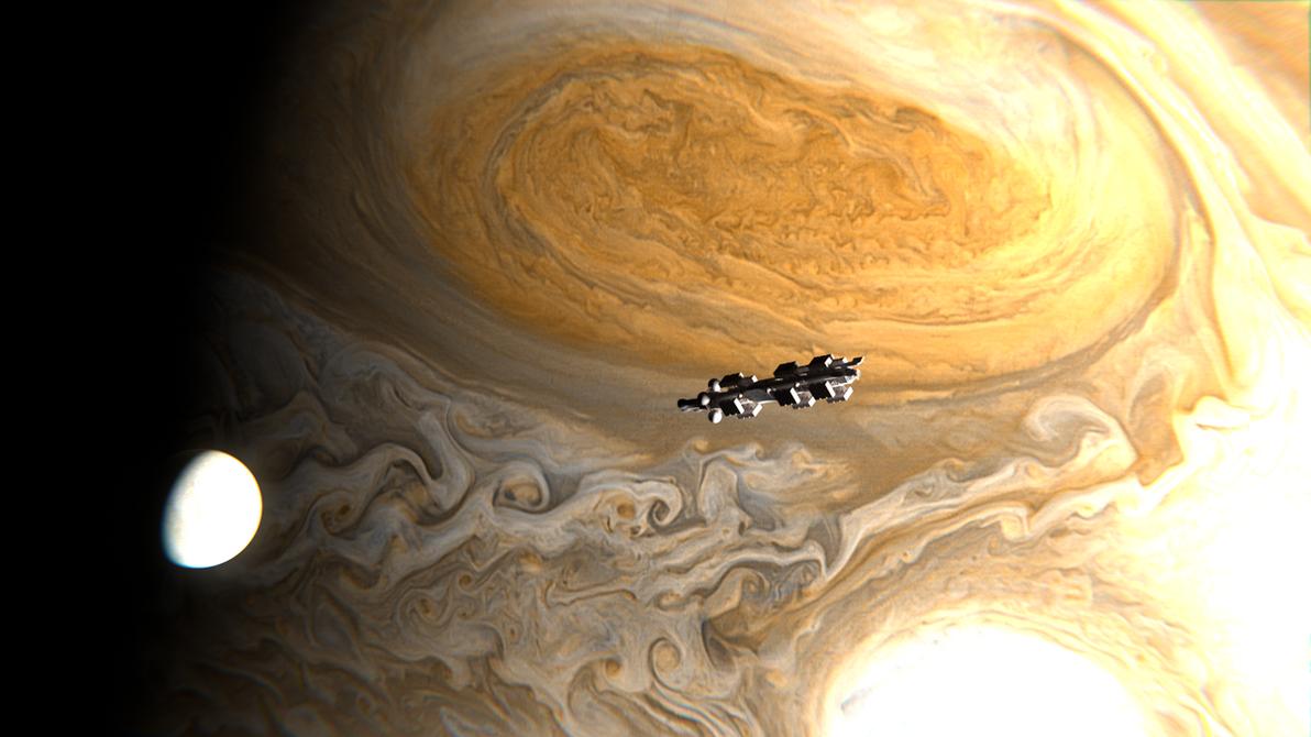 Jupiter Colony Transport by Swiddy