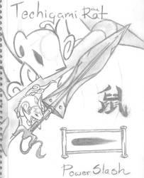 Techigami the rat by HiddenWolfSoulKimi