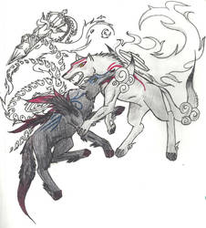 The real final battle by HiddenWolfSoulKimi