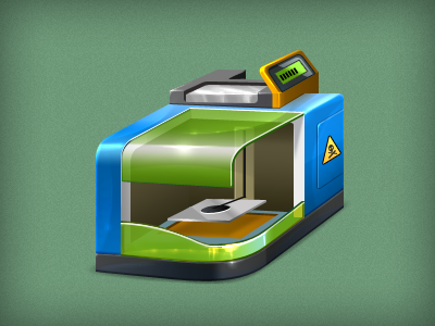 3d printer by aha-soft-icons