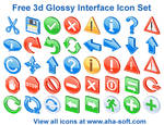 Free 3d Glossy Interface Icons