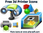 Free 3d Printer Icons