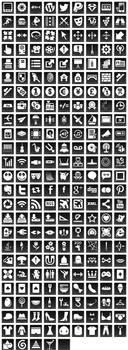 Free Black Button Icons