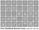 Free Disabled Button Icons