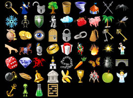 Free Game Icons by aha-soft-icons