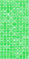 Free Green Button Icons by aha-soft-icons